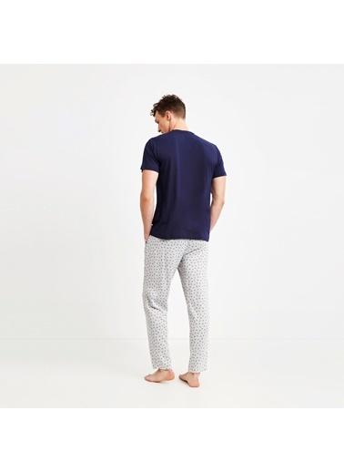 Nautica M141PJTK.LACI Nautıca Erkek Lacivert Pijama Takımı Lacivert